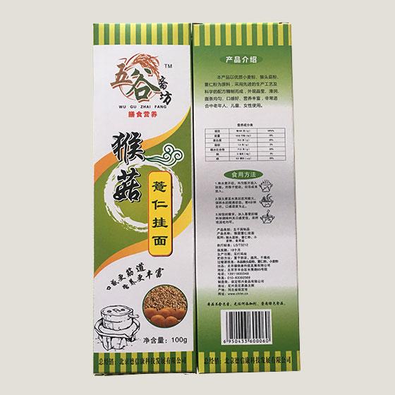 五谷斋坊 猴菇薏仁挂面抢购组·11盒