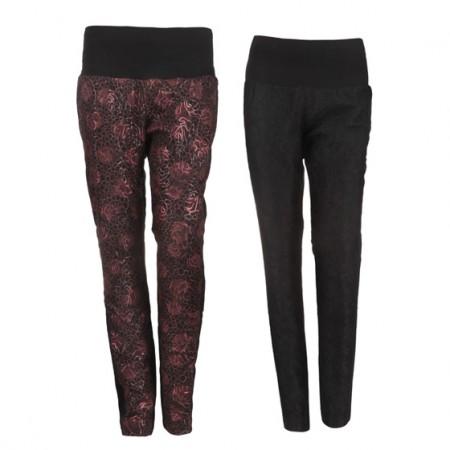 蕾丝保暖羽绒裤 2色2条