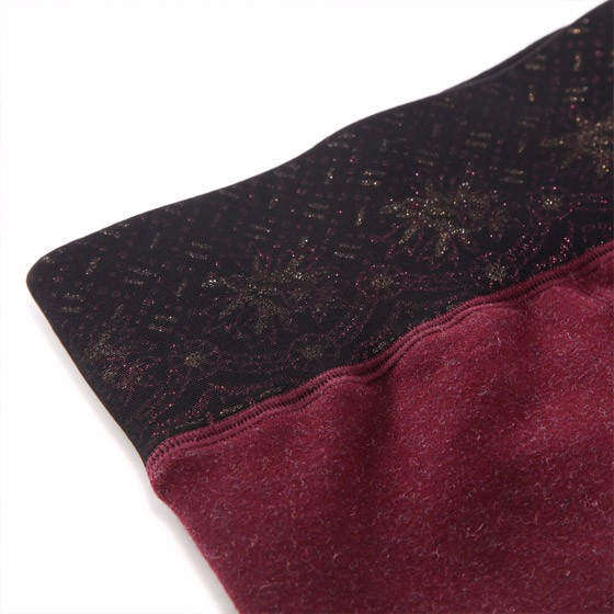 navigare 蚕丝一体瘦暖发热女裤·2色2条