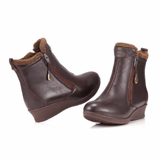 Jellyko 舒适百搭女靴·咖啡色