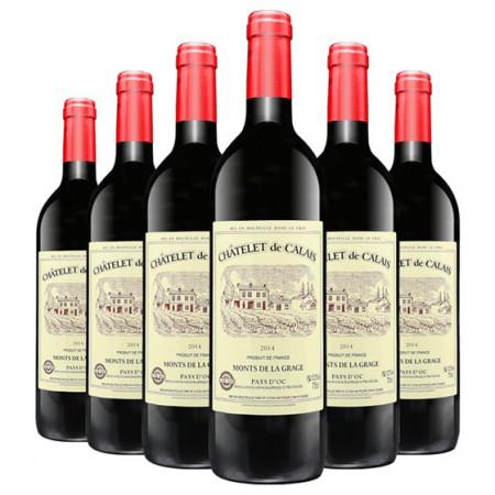 法国进口卡莱斯 干红葡萄酒·8瓶