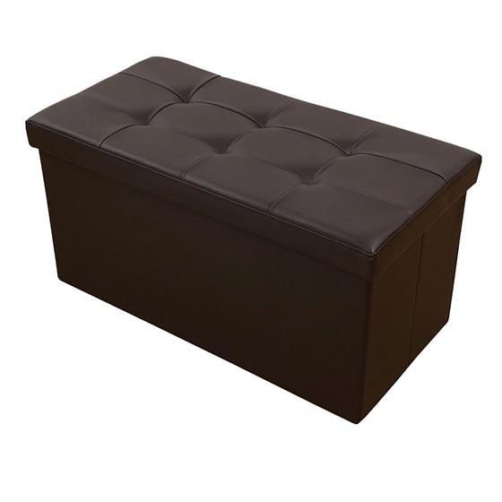 Sooney House淑倪居 时尚收纳沙发凳 黑色·4件