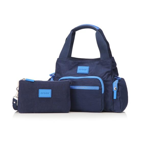 crocs 多功能手拎包·3件·蓝色