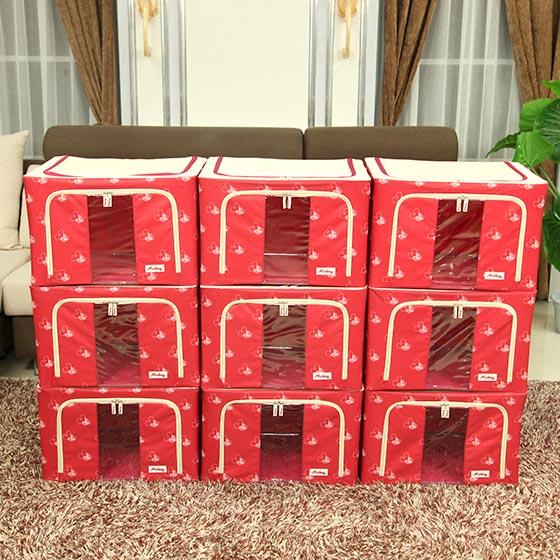 迪士尼 2016纪念款大容量百纳箱·9件组·魅力红