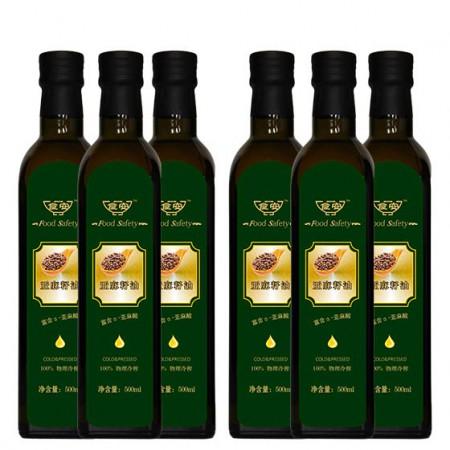 食安亚麻籽油特惠组