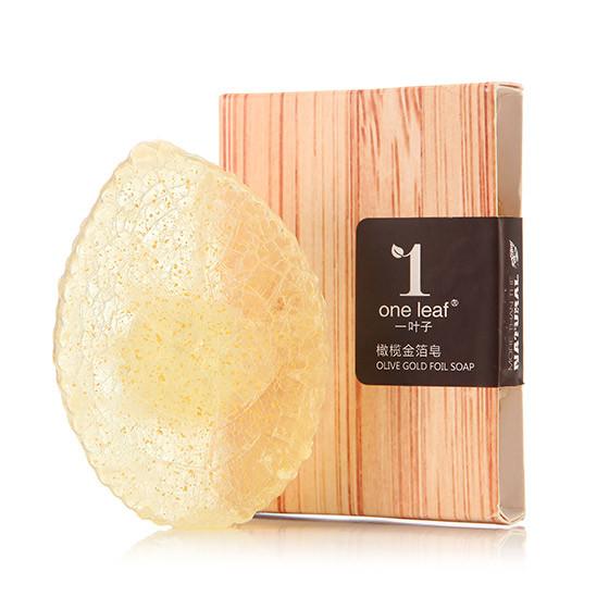一叶子 金箔美容皂·10块