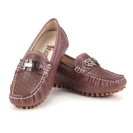 诺曼地 弹力豆豆呼吸鞋·紫色