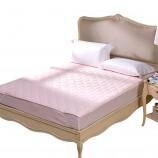 富安娜 轻柔薄床垫150*200 粉