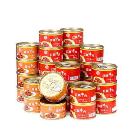 德丰 秘制牛肉罐头两种口味·36罐