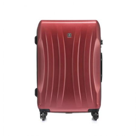 SWISSWIN优选24英寸拉杆箱套组(酒红色) 送双肩包