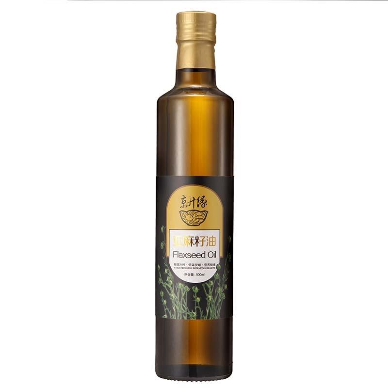 京升缘 亚麻籽油·16瓶/500ml