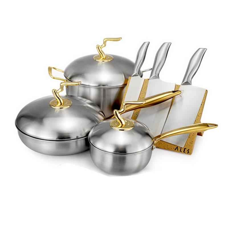 德国爱乐仕 金色锅具品牌月特惠·15件