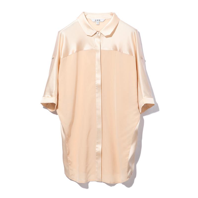 丘里普 桑蚕丝女款衬衣·米色