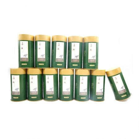 茶园世家 黄山毛峰·12罐+茶具7件套