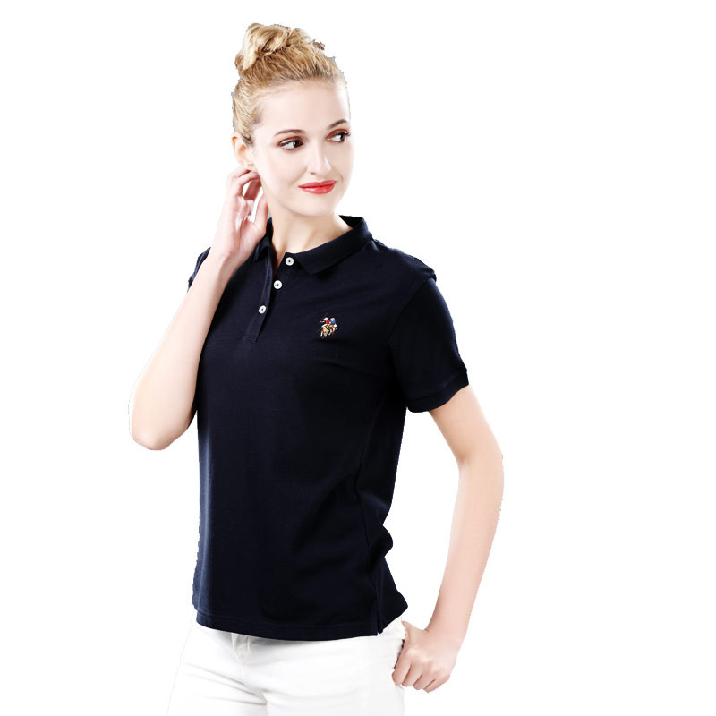 U.S.POLO ASSN 美国夏日经典T恤女·4件