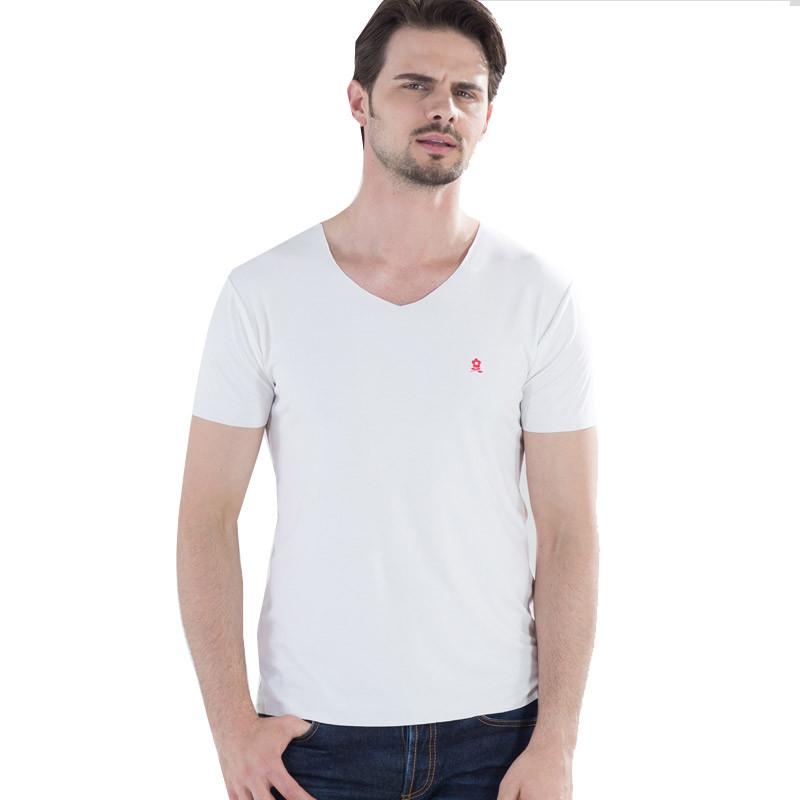 梦特娇 法国无痕自由裁男士T恤·7件组