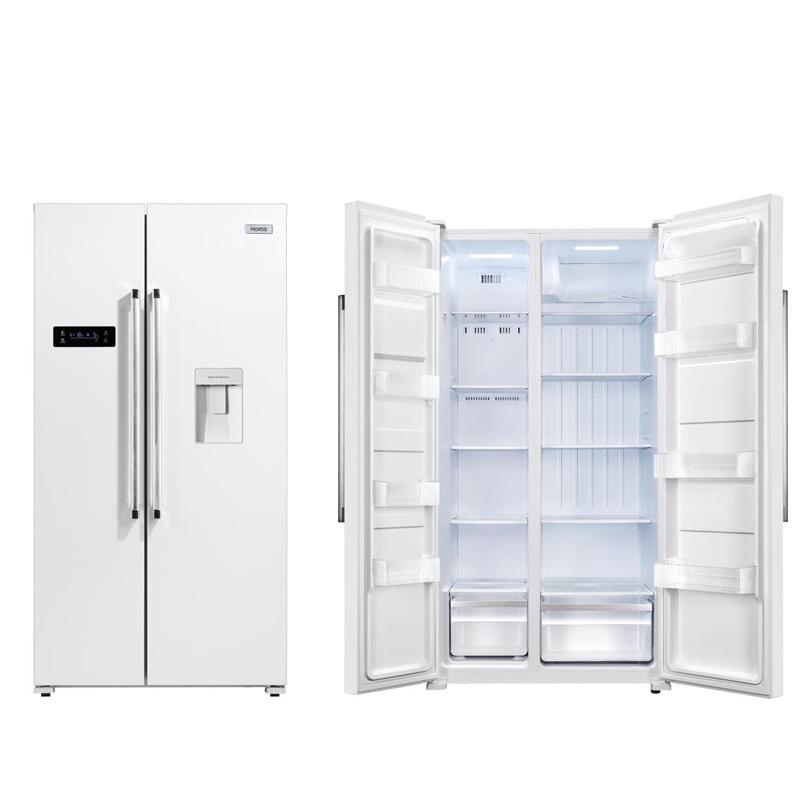 奥马风冷无霜电脑温控对开门冰箱526升