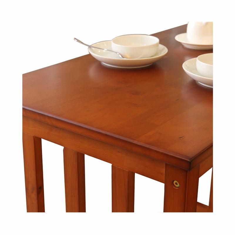 英国INNESS英尼斯 原装进口橡胶木简约长桌·蜜糖色