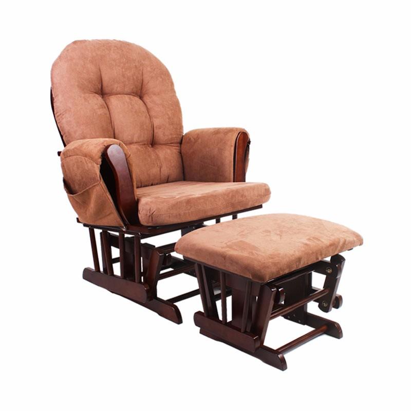 英国INNESS英尼斯 榉木摇篮式摇椅·深咖色