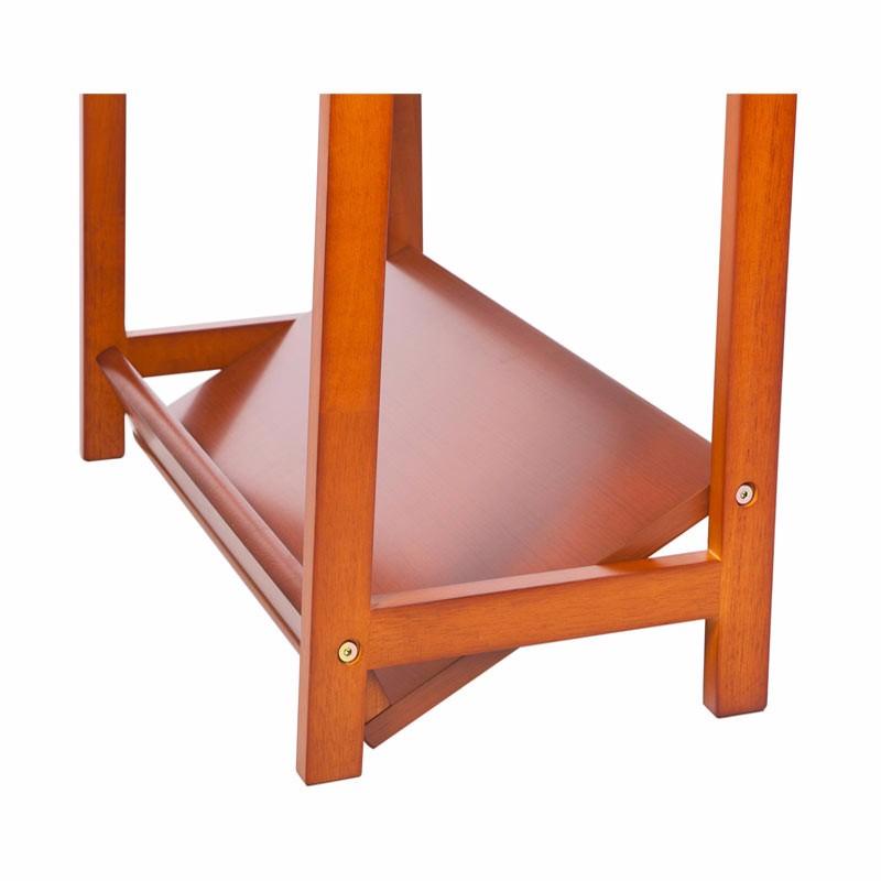 英国INNESS英尼斯 原装进口橡胶木多用途可调节置物架