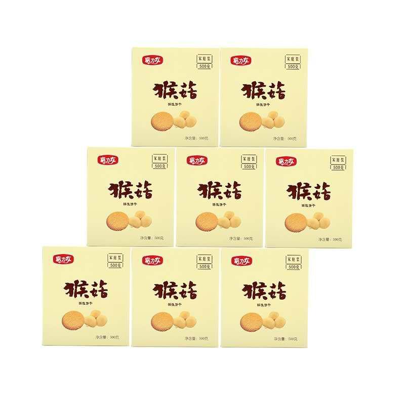 富力友猴菇饼干健康美味组