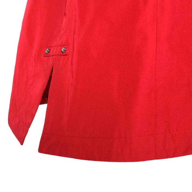朗姿奢华修身尼克服·红色