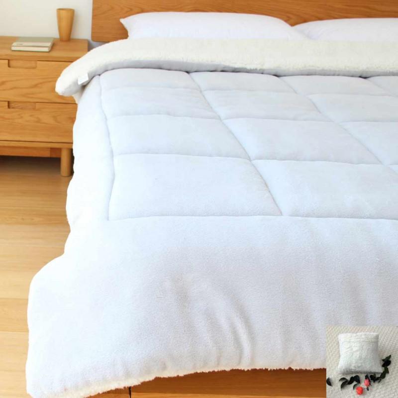 柳桥乌斯特卡波兰绒95%白鹅绒被加赠9件组·5尺