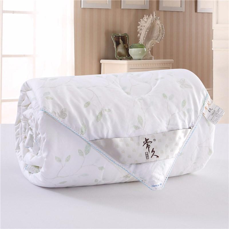 常久 全棉印花加厚蚕丝被冬被 风雅 200*230 4斤
