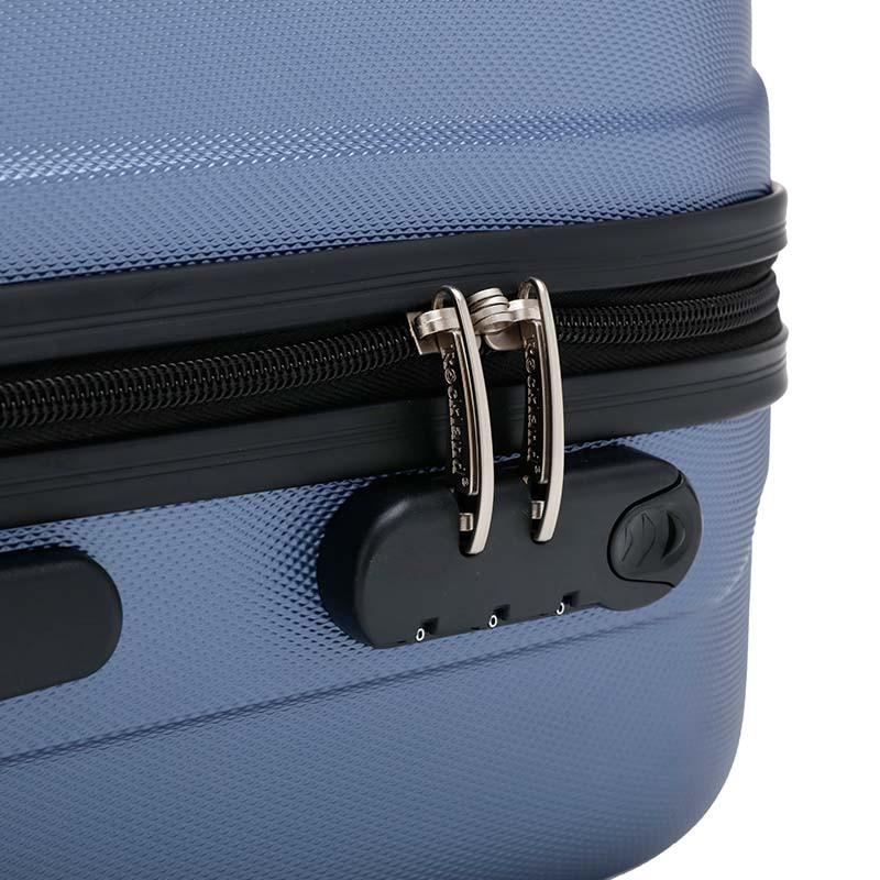 美国Rockland时尚拉杆箱三件组套·蓝色