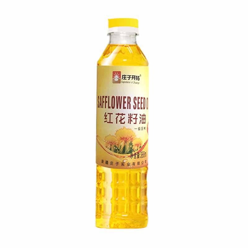 庄子开拓红花籽油18瓶超值组