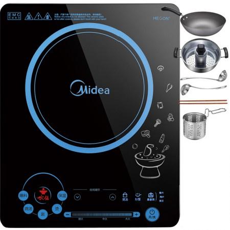 Midea美的 触摸屏超薄火锅电磁炉RH2133 配套火锅餐具