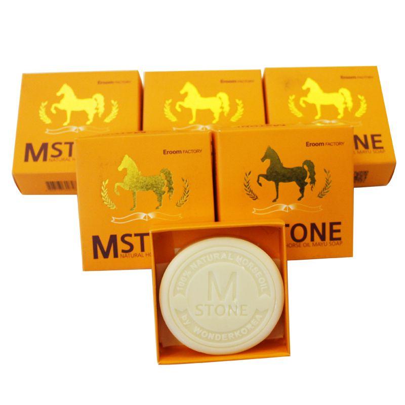 Mstone韩国原装进口马油皂·6盒组