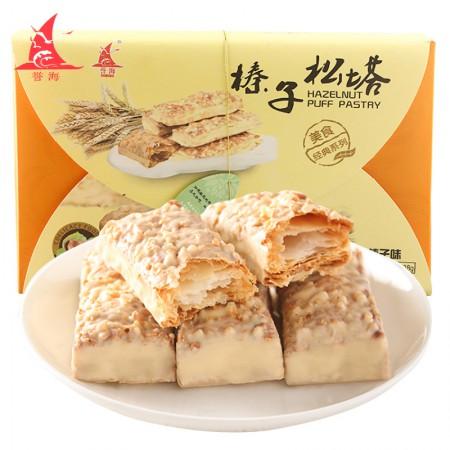 誉海休闲小食美味松塔198g/盒*3 榛子松塔、核桃松塔、扁桃仁松塔·榛子松塔