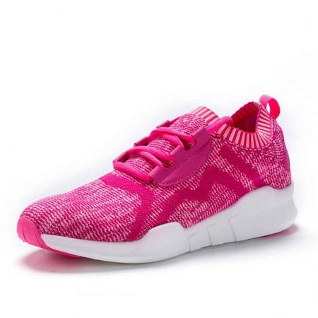 衣客情侣运动鞋飞线飞织跑步运动鞋软底轻便鞋子男潮鞋·121712210028-紫