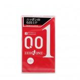 香港直邮 日本原装 冈本001超薄避孕套安全套 3枚入
