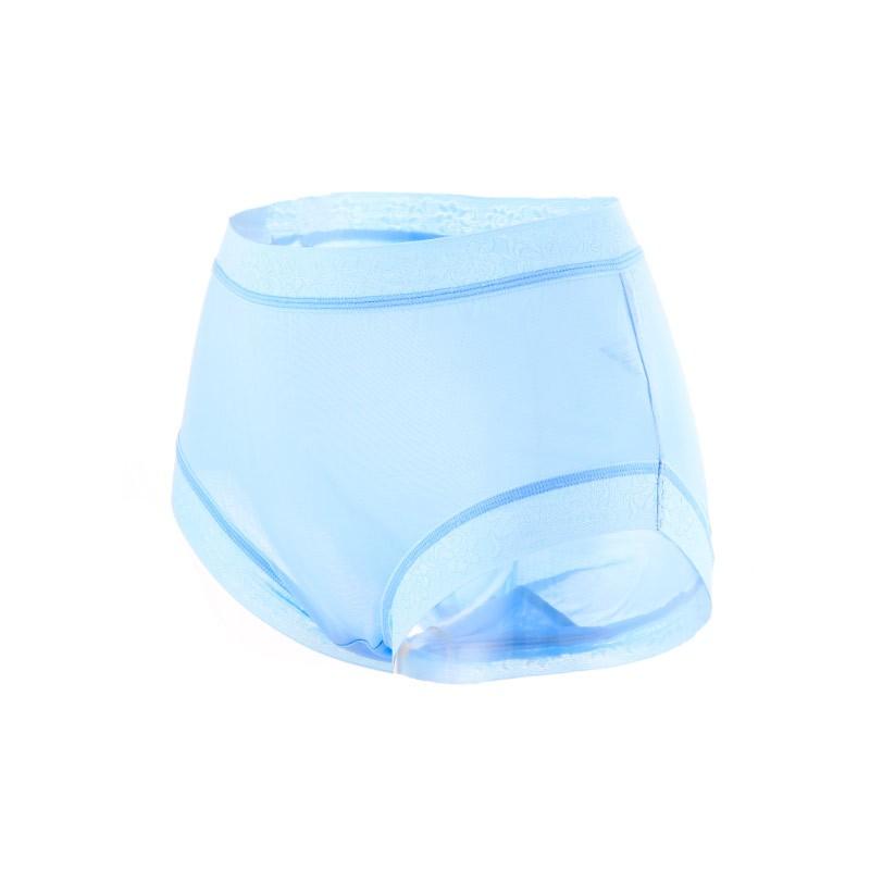 阙兰绢柔滑细致100%蚕丝裤·5件组