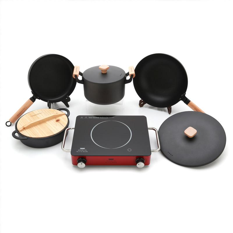 美国康宁微晶炉厨房超值装