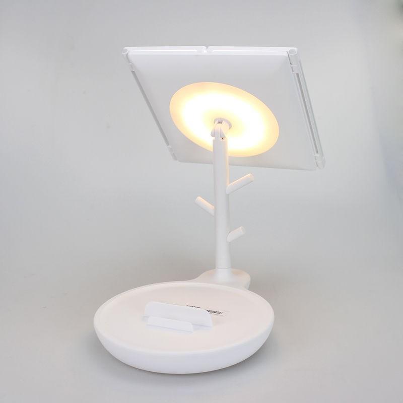 家奈 多功能双开LED化妆镜灯 GJ-1004·白