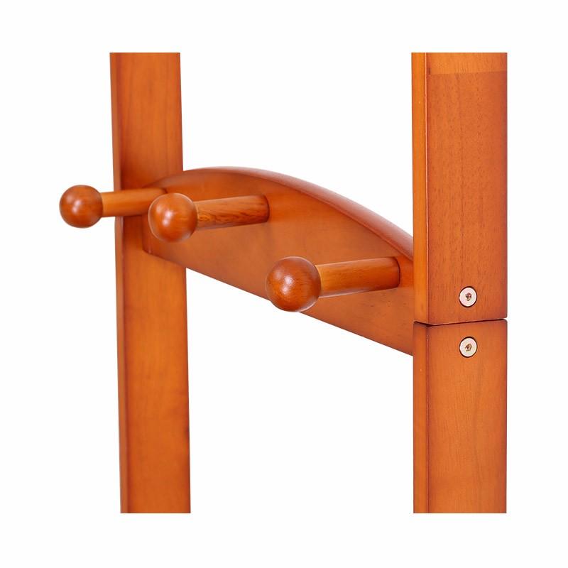 【新品上市】英国INNESS英尼斯 原装进口橡胶木成人落地衣帽架