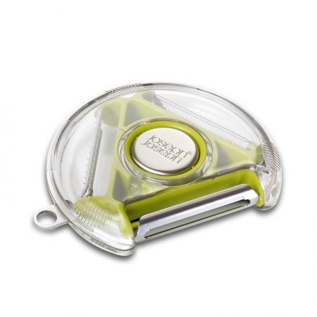 【新品上市】英国josephjoseph 三合一多功能削皮器·绿色