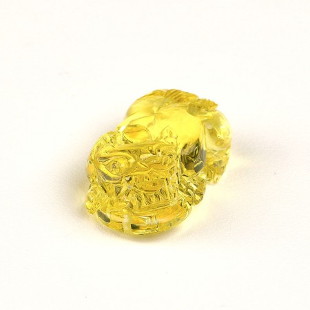 满记天然琥珀貔貅吊坠(孤品)净重约:5.96g图片