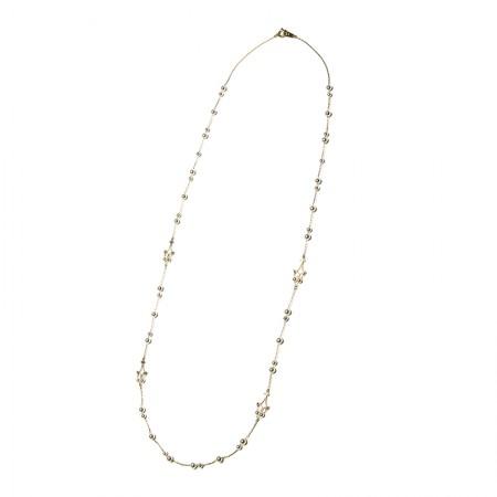 Vermeer 18K金日本akoya海水珍珠项链·珍珠颜色:白色