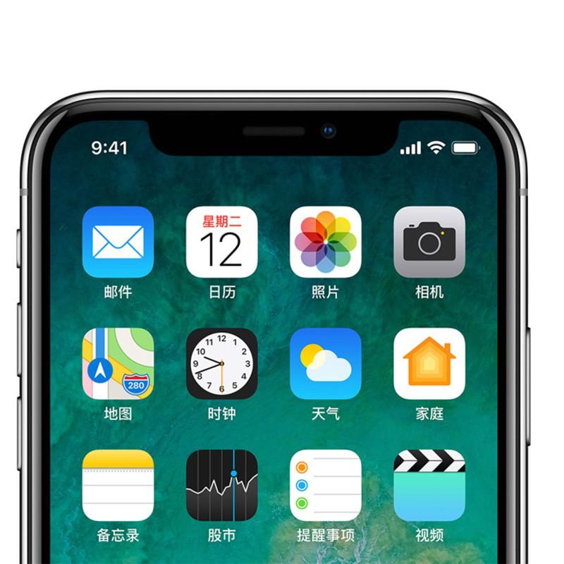Apple苹果手机iPhoneX公开版256G·银色