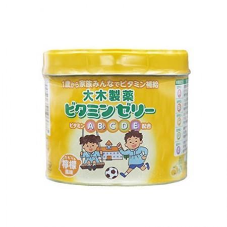 日本直邮 大木维生素柠檬味160粒 2盒装