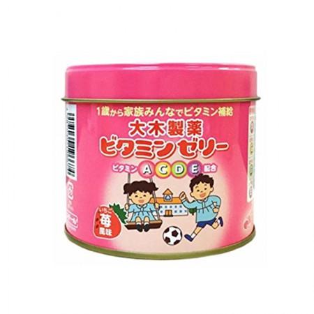 日本直邮 大木维生素草莓味160粒 2盒装