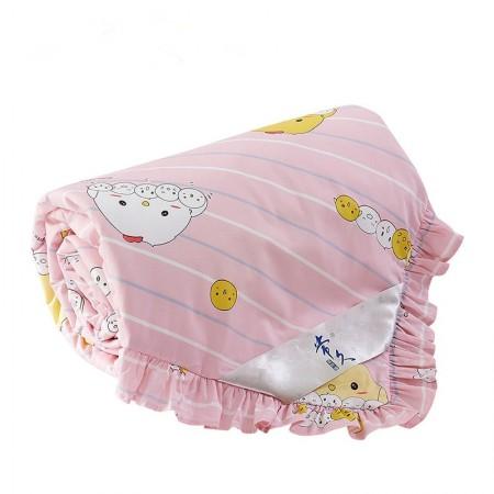 常久 全棉可拆洗儿童蚕丝被夏150*200cm1斤 萌咪宝贝