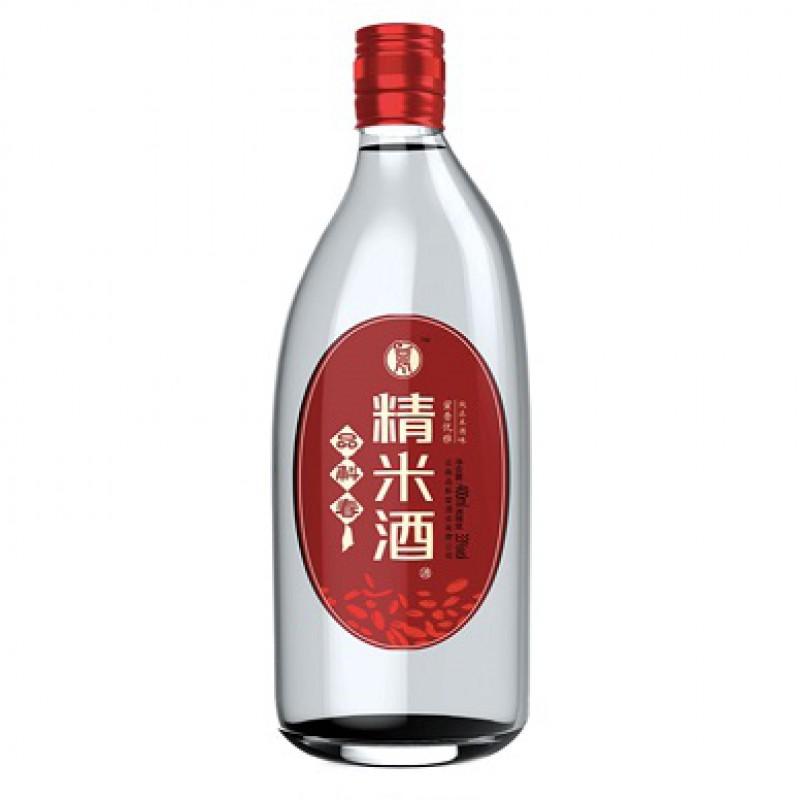 品斛 精米酒 400ml*6瓶/箱42度白酒 米酒