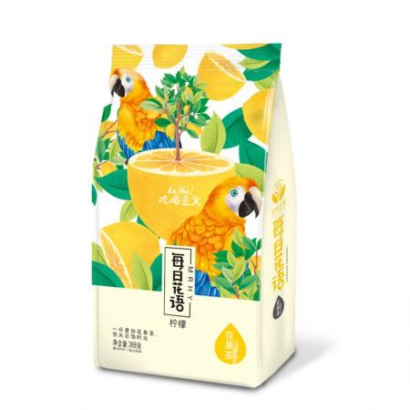 每日花语花果茶 水蜜桃/樱桃/柠檬三种口味可选·368g·柠檬