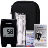 欧姆龙血糖仪 家用智能免调码血糖仪HGM-114(血糖仪+50片独立试纸+50针
