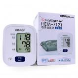 欧姆龙 家用臂式电子血压计(配电源+便携收纳包) HEM-7121